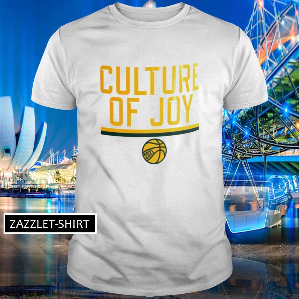 Culture of joy basketball shirt