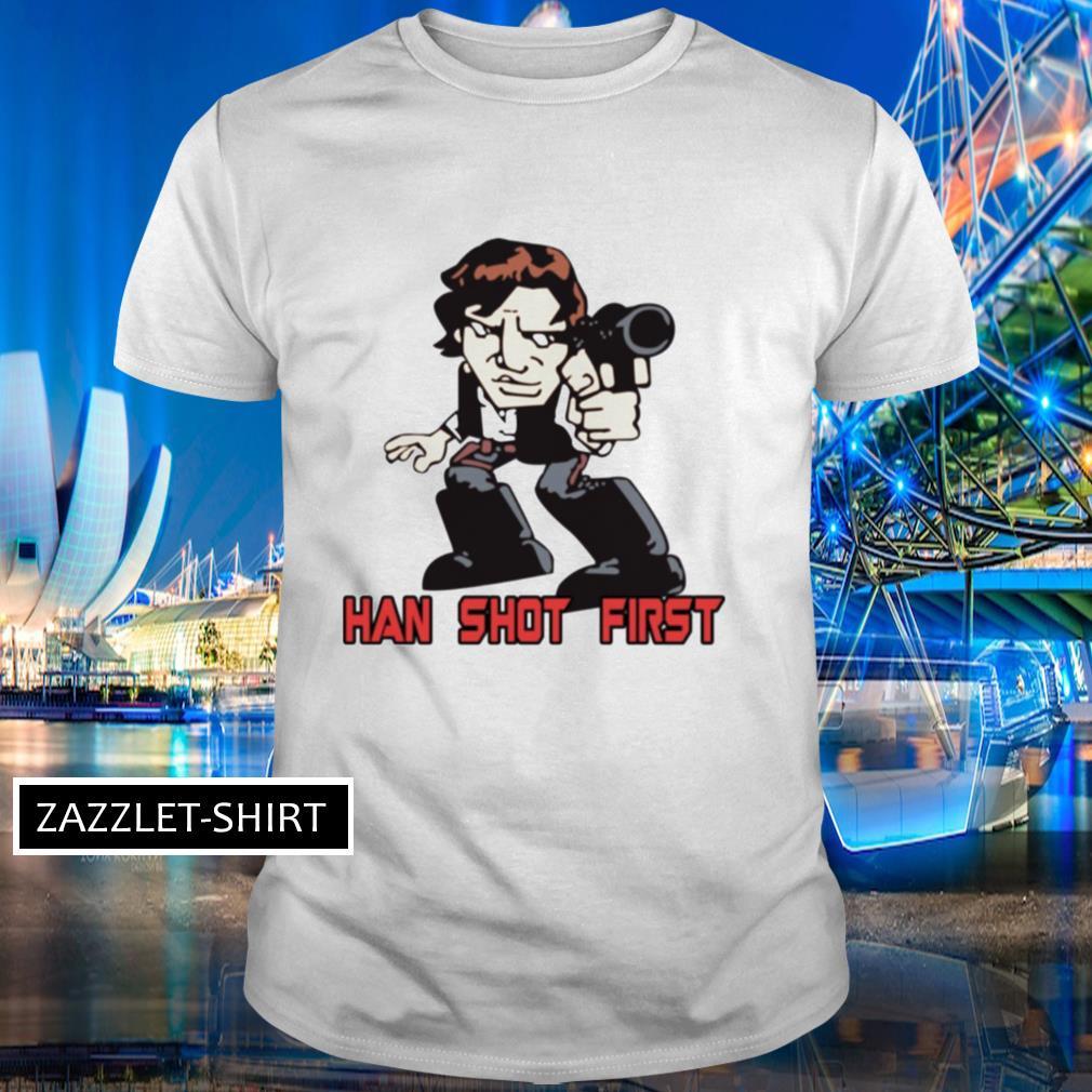 Han Shot First shirt
