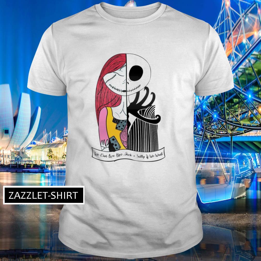 Jack Skellington and Sally Blink 182 shirt