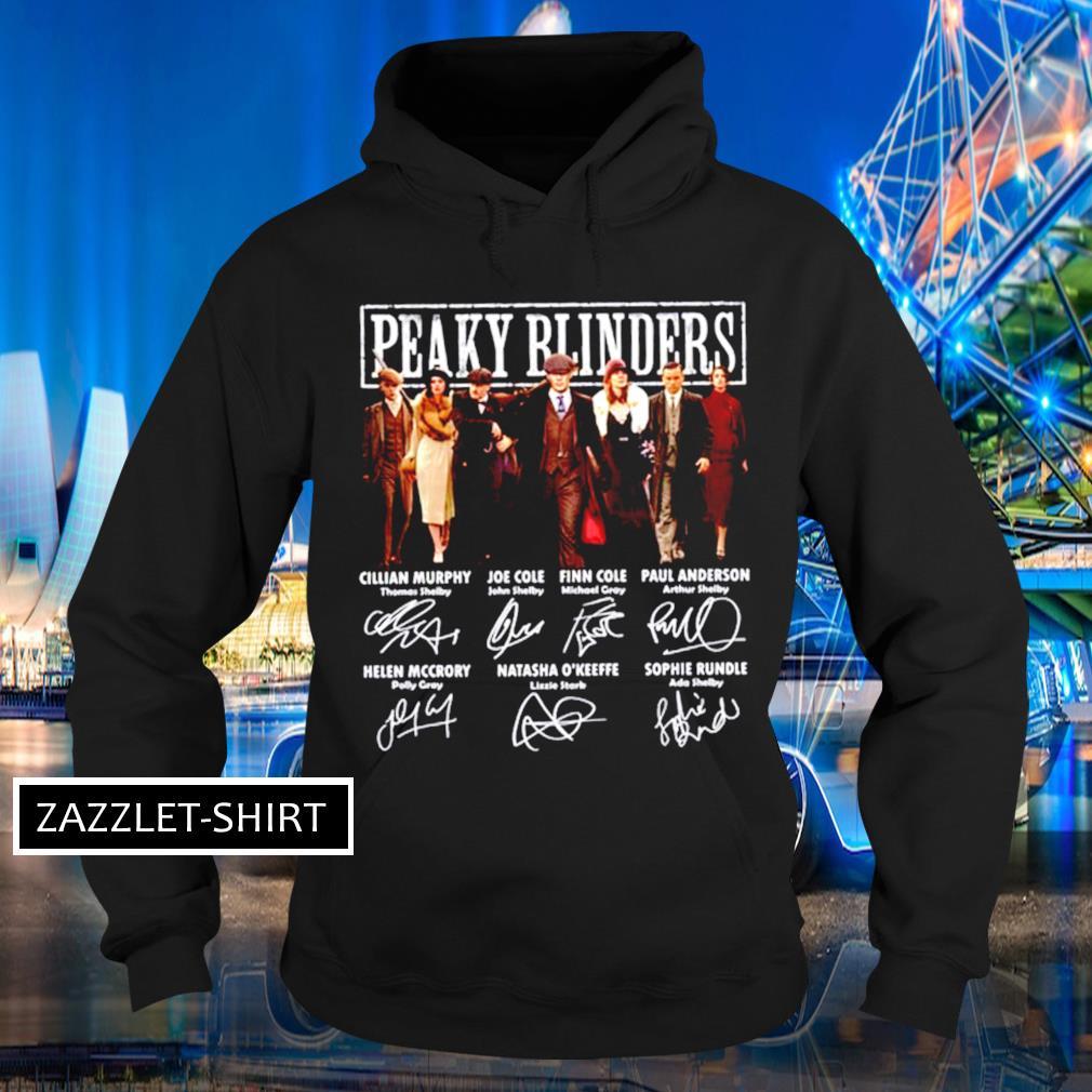 Peaky Blinders All cast signatures Hoodie