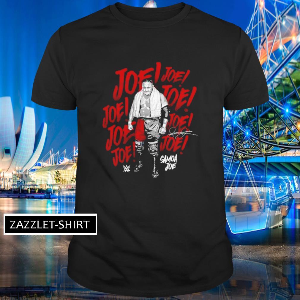 Samoa Joe wrestler signature shirt