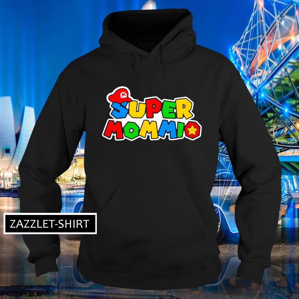 Super Mommio Super Mario game Hoodie