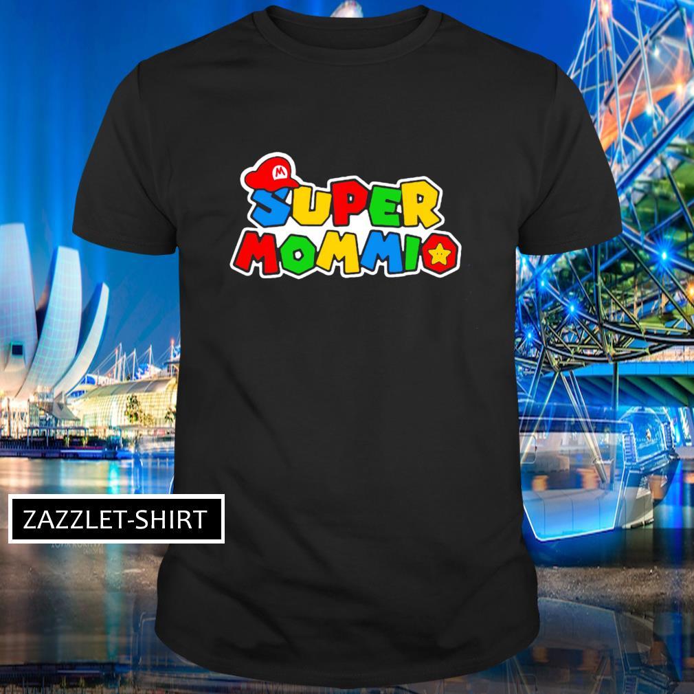 Super Mommio Super Mario game shirt