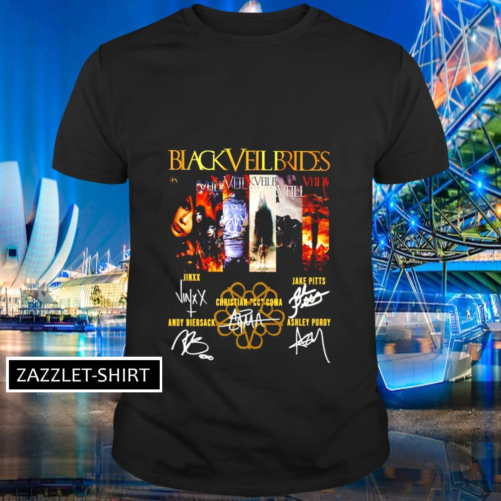 Black Veil Brides signature shirt