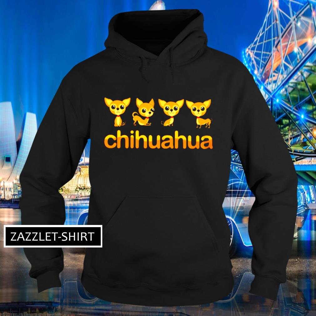 Chihuahua Puppy in action s Hoodie