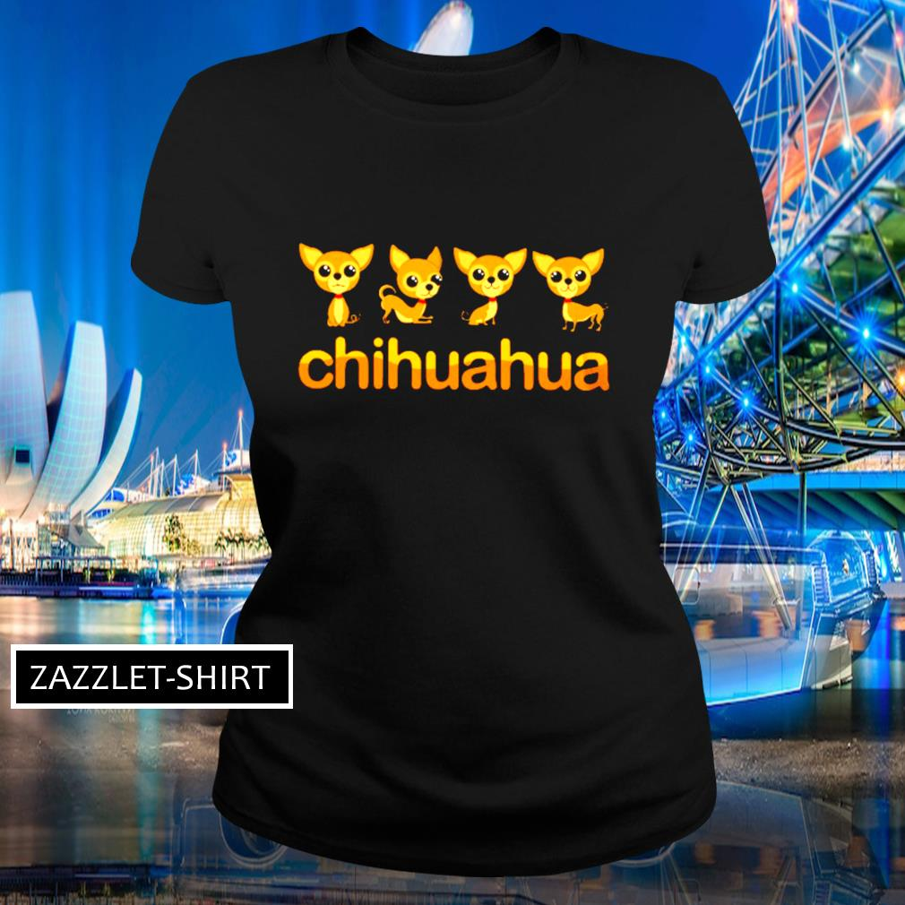 Chihuahua Puppy in action s Ladies-tee