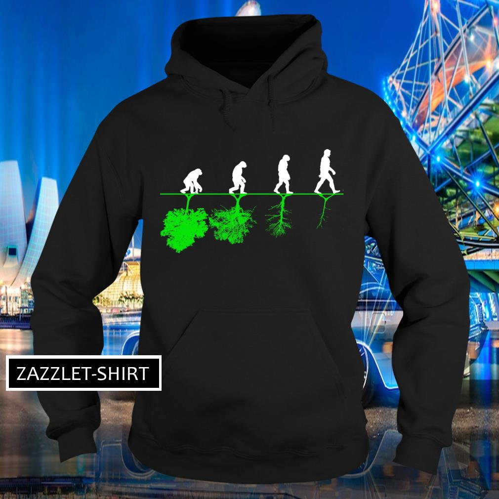 Evolution humans and trees s Hoodie