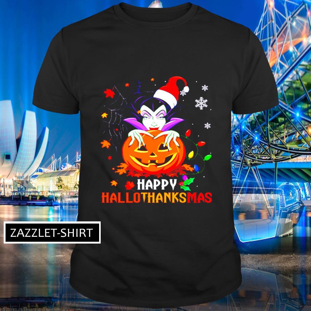Maleficent Hallothanksmas shirt