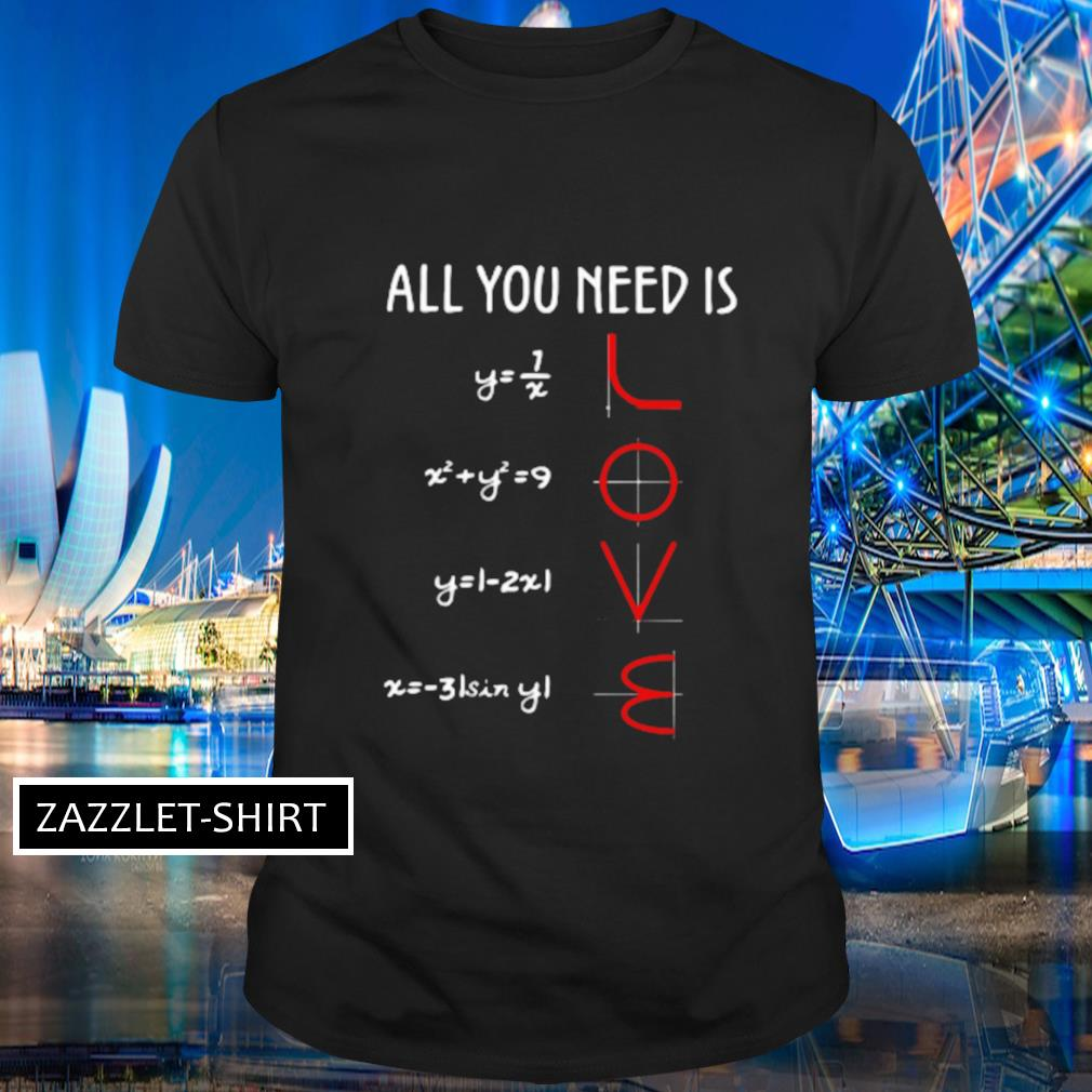 All you need is shirt