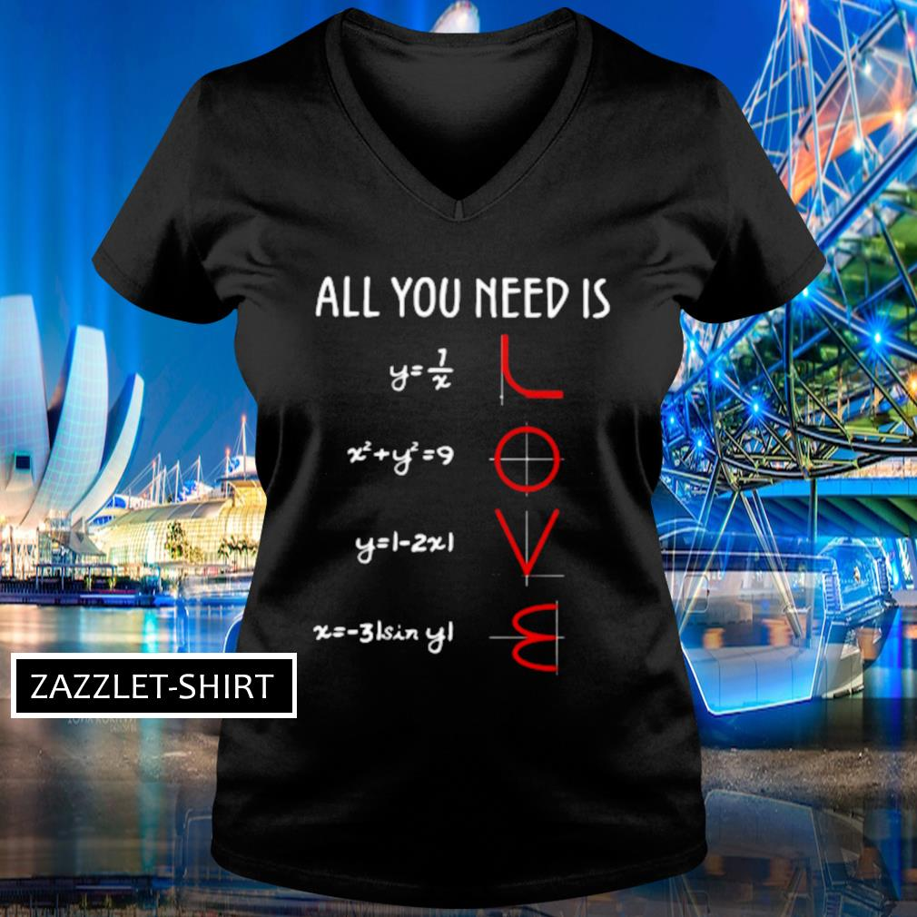 All you need is s V-neck t-shirt