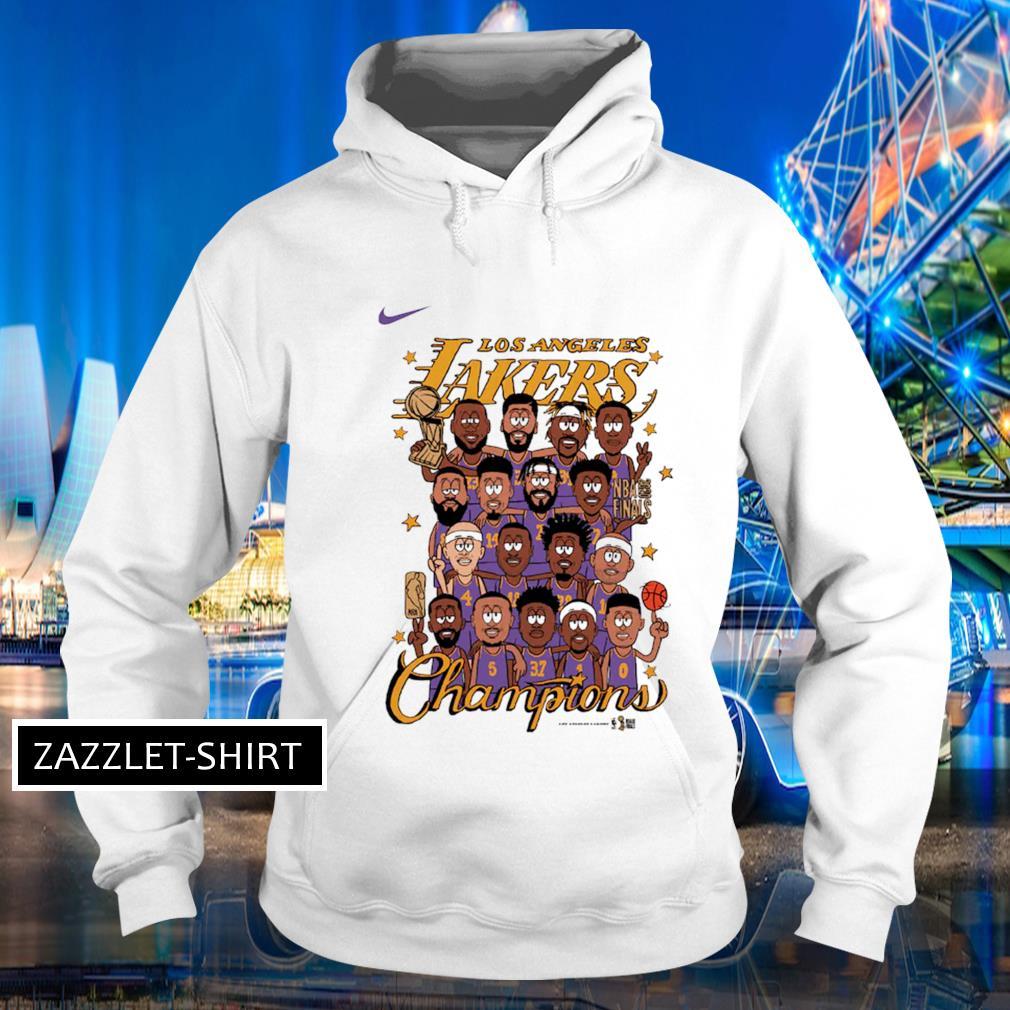 Nike Los Angeles Lakers Preschool champion s Hoodie