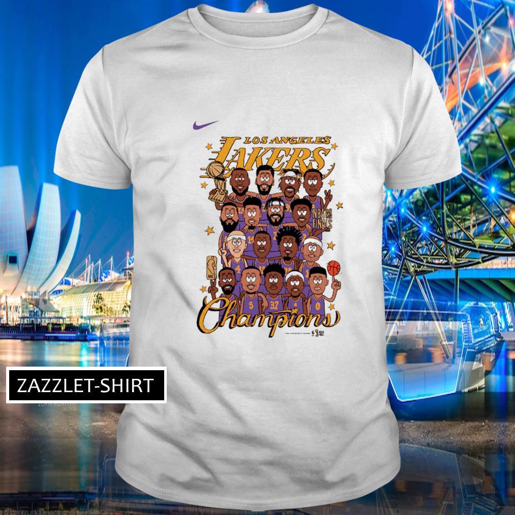 Nike Los Angeles Lakers Preschool champion shirt