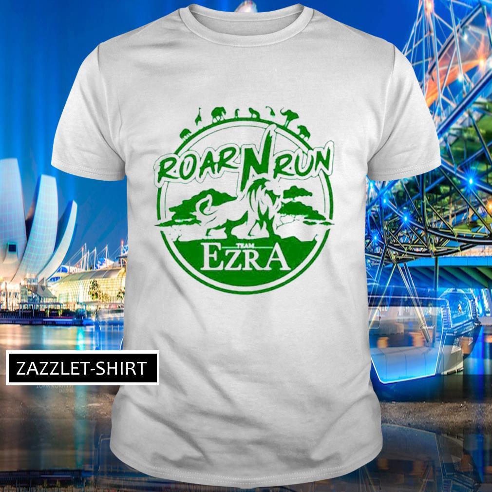 Roar Run team Ezra shirt