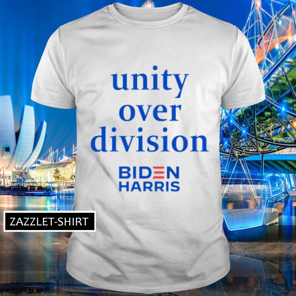 Unity over division Biden Harris shirt