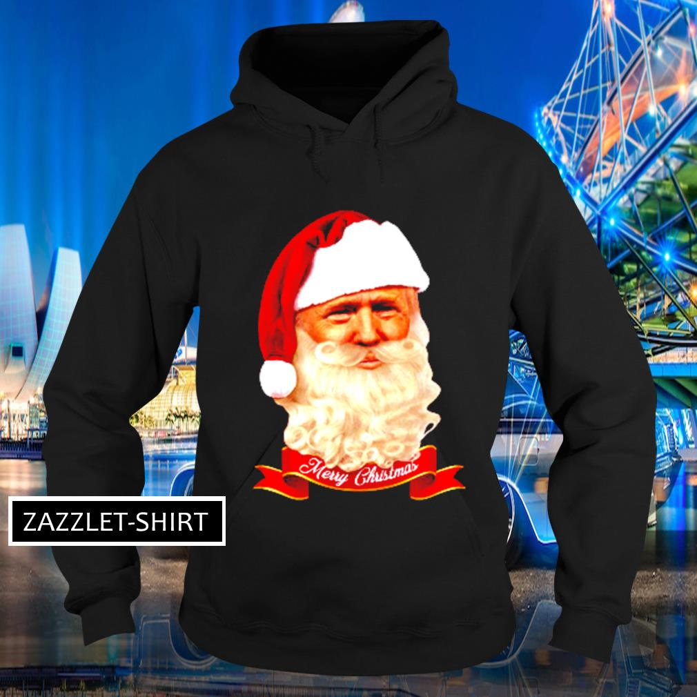 Donald Trump Santa Claus Merry Christmas s Hoodie