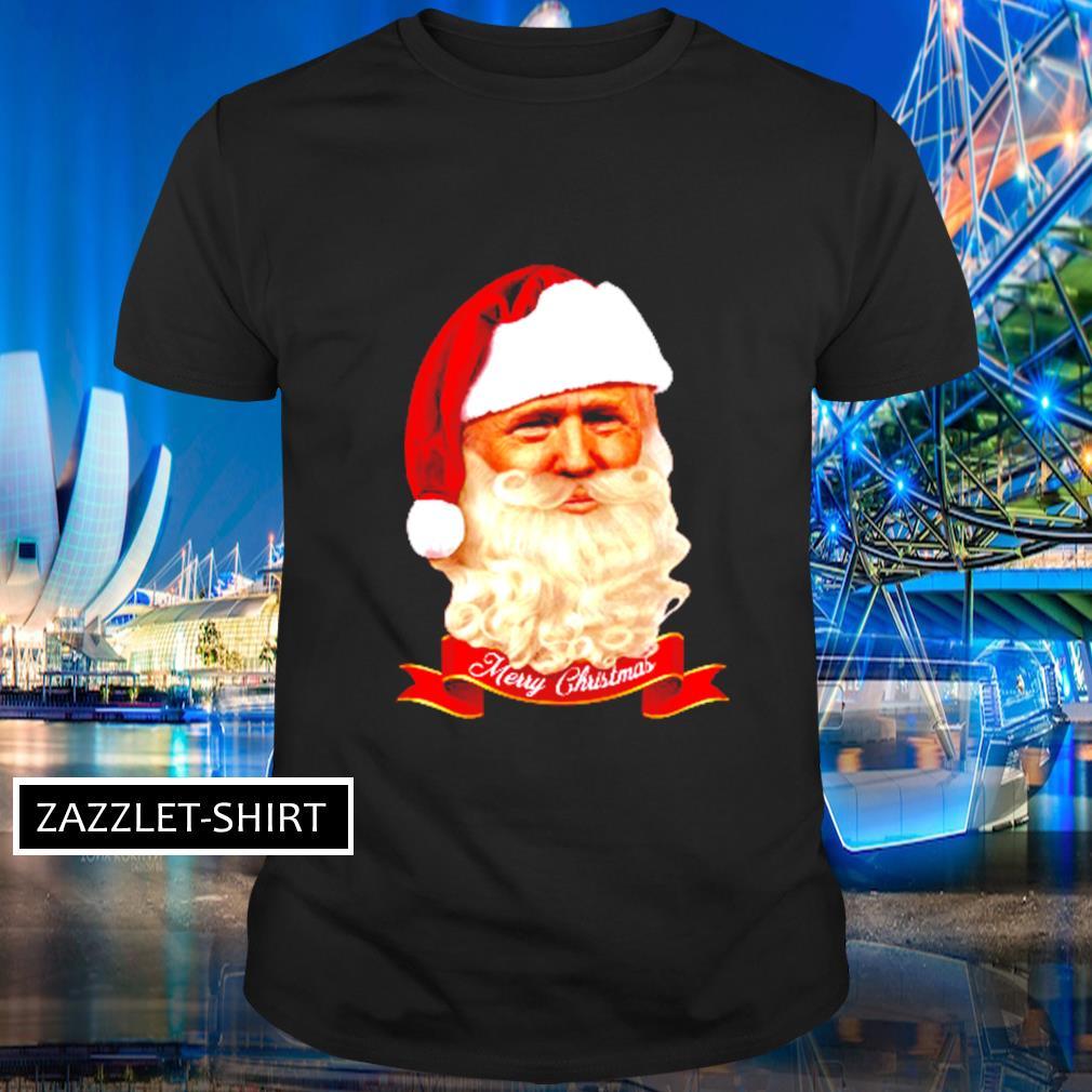 Donald Trump Santa Claus Merry Christmas shirt