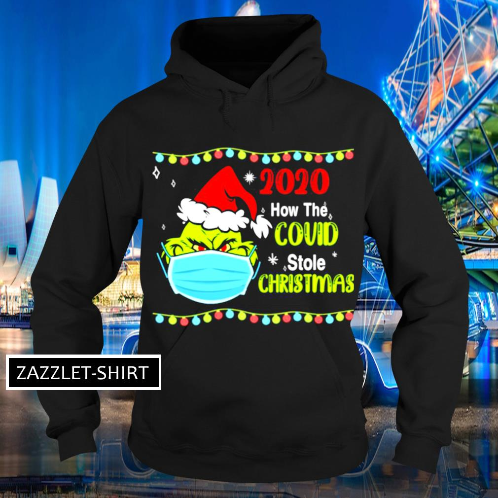 Grinch 2020 how Covid stole Christmas s Hoodie